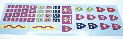 Custom Replacement Stickers for Lego Yellow Castle 6075 375