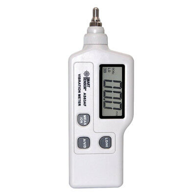 Portable Digital Handheld Vibrometer Tester Vibration Analyzer LCD Display
