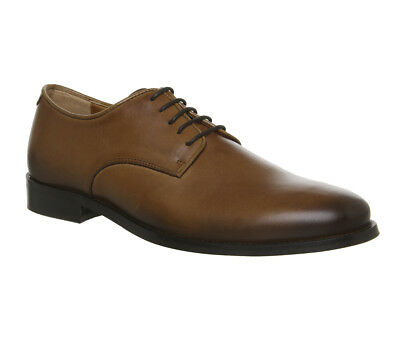 Mens Office Office Classics Derby Shoes Tan Leather Formal Shoes