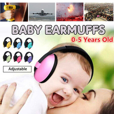 Kids Ear Muffs Hearing Protection Noise Reduction Ear Defenders Safety Care AU