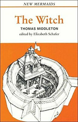 The Witch (New Mermaids) by Middleton, Thomas Paperback Book The Cheap Fast Free