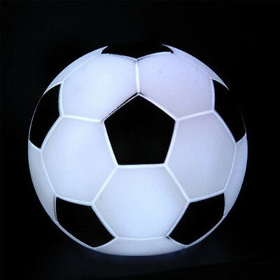 Color Changing Football Shape LED Light Night Lamp Home Party Decor Kids Gift