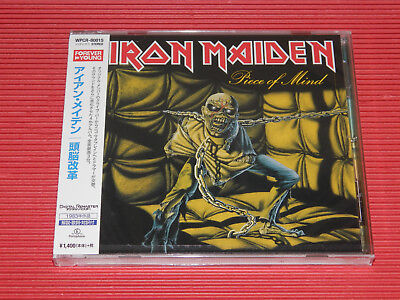 2014 Japan Cd Iron Maiden Piece Of Mind
