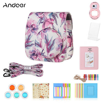 Andoer 8 in 1 Accessories Bundle for Fujifilm Instax Mini 9/8/8+/8s with A2N6