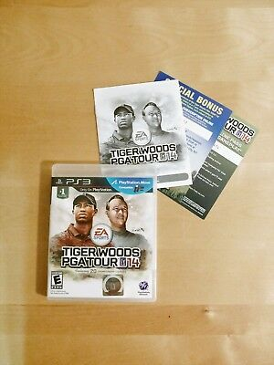 Tiger Woods PGA Tour 14 COMPLETE (Sony PlayStation 3, 2013)