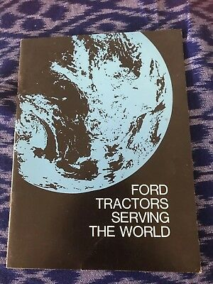 Ford Tractors Serving The World Booklet