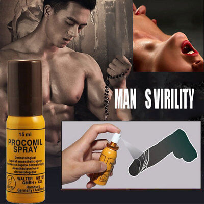 FE3F Delay Spray 15ml Long Time Sex Powerful Stong Procomil Spray Essential Oil