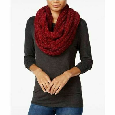 a18dc617811f6 Charter Club Womens 14710 Velvety Marled Chenille Scarf Infinity Mulberry  Spice