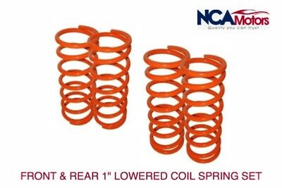 """Defender 90  / Discovery 1 & Range Rover Classic 1""""Lowered Front & Rear Springs"""