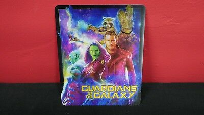 GUARDIANS OF THE GALAXY 3D Lenticular Magnetic Cover Magnet for BLURAY STEELBOOK