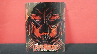AVENGERS AGE OF ULTRON 3D Lenticular Magnetic Cover Magnet for BLURAY STEELBOOK