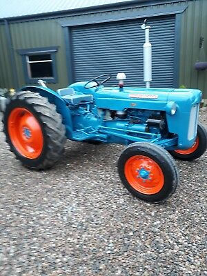 Fordson Dexter Early 1960s Ongoing Project