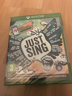 Just Sing Xbox One - Neuf sous blister