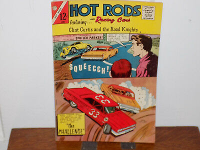 Hot Rods and Racing Cars Comic Book Vol 1 No 69
