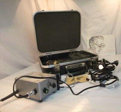 vintage keeler ophthalmoscope Spectacle indirect with case