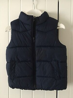 Next Boys Navy 12-18 Months Body Warmer Gilet
