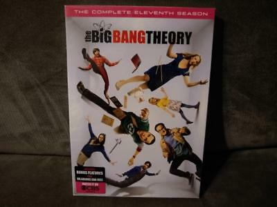 The Big Bang Theory: The Complete Season 11 (DVD, 2-Disc) NEW w/ Slipcover