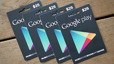 $25 USD Google Play Gift CARD - Digital Gifts - USA Google Play Store