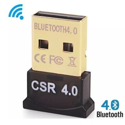 Clé USB Dongle Bluetooth V 4.0 Adaptateur pour PC MAC Windows - noir
