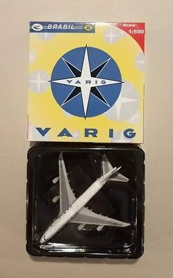 Big Bird Premium Brasil Varig Boeing 747-400 1:500 2002-12 #0106 New In Box