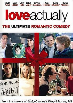 Love Actually (DVD, 2004, Full Frame Edition) - Brand New Sealed
