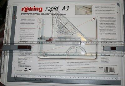 Rotring Rapid A3 Drawing Board With College Case