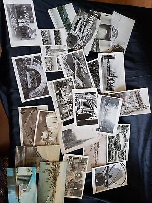 Lot of 140 Vintage postcards US Linen real photo more