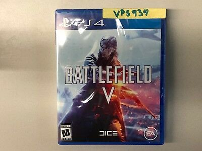 Battlefield V 5 (Sony Playstation 4, PS4, 2018) BRAND NEW FACTORY SEALED!!!!!!!!