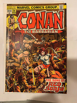 Conan the Barbarian 24 1st Full Red Sonja VF/NM to NM #B02