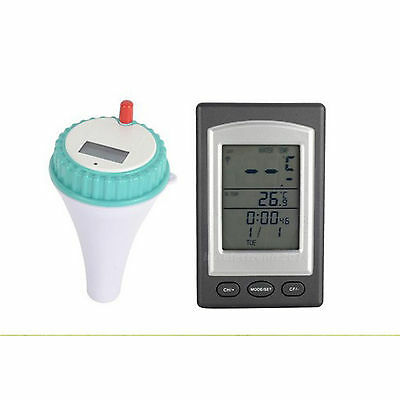 Wireless Swimming Pool Spa Floating Thermometer Water Temperature Tester Tool