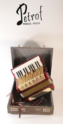 HOHNER CONCERTO I 48 BASS,3 SW.-TOP GERMAN PIANO ACCORDION~Akkordeon~Fisarmonica