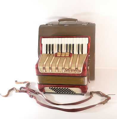 HOHNER CONCERTO I 48 BASS, 3 REG.-TOP GERMAN PIANO ACCORDION~Akkordeon~Accordian