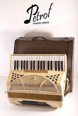HOHNER LUCIA IIP 80 BASS 10 R.-TOP GERMAN PIANO ACCORDION+OriginalCASE~AKKORDEON