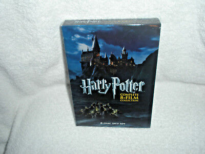 Harry Potter Complete 8-Film Collection - 8 Disc Dvd Set