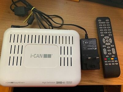 I-can Freeview Hd Easy Hd 2851t Receiver Set Top Box