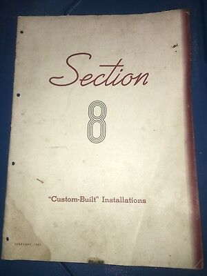 1939 Coca Cola Advertising Manual Section 8 Custom Built Sign Installations