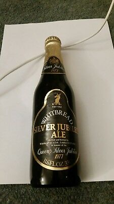 Beer Bottles Whitbread Silver Jubilee Ale Bottle 1977 Unopened