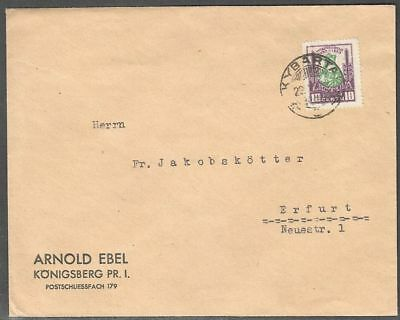 Lithuania 1930 Cover to Germany with Mi 296