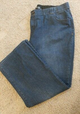 Lane Bryant Plus Size 28 Jeans Women Tighter Tummy Technology T3 Flare