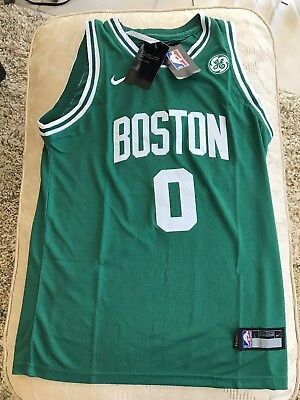 9047bbfbc 2018 Player Edtion Jayson Tatum Boston Celtics Jersey Brand New Size Youth  Large