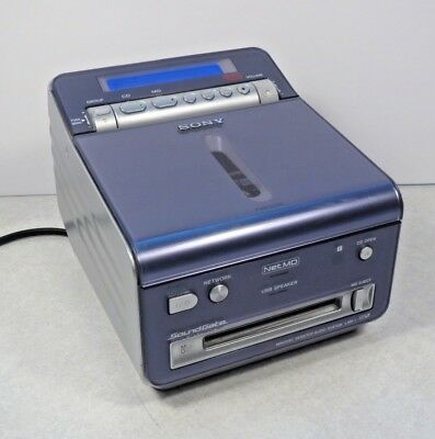 Super Rare SONY LAM-1 desktop Mini disc CD player/recorder Soundgate NetMD