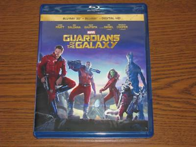 Guardians of the Galaxy (Blu-ray/3D Blu-Ray, 2014, 2-Disc Set)