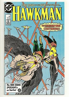 Hawkman #1 NM DC Comics 1986 unread