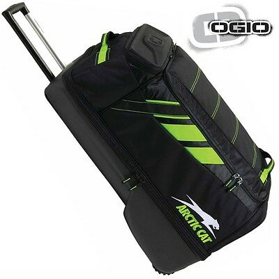 Arctic Cat OGIO Adrenaline Large Roller Gear Bag - Black & Green - 5262-901