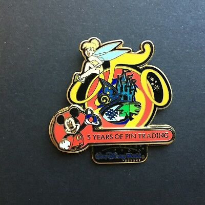 DLR - 5 Years of Pin Trading Collection Disneyland Tinker Bell Disney Pin 36741