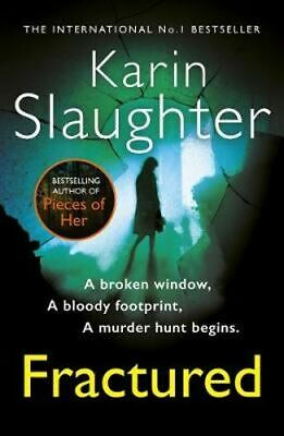 NEW Fractured : Will Trent  By Karin Slaughter Paperback Free Shipping