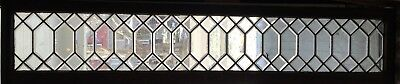 beveled glass transom window