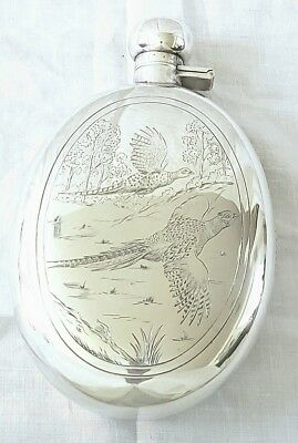 Charles S Green & Co Sterling Silver Flask