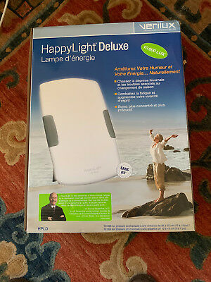 VERILUX Happy Light Deluxe Energy Light Therapy Lamp Beats Winter Blues & More!