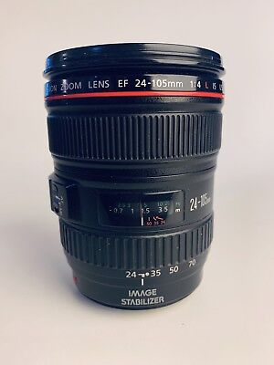 Canon RF 24–105mm F4 L IS USM Camera Lens (2963C002)